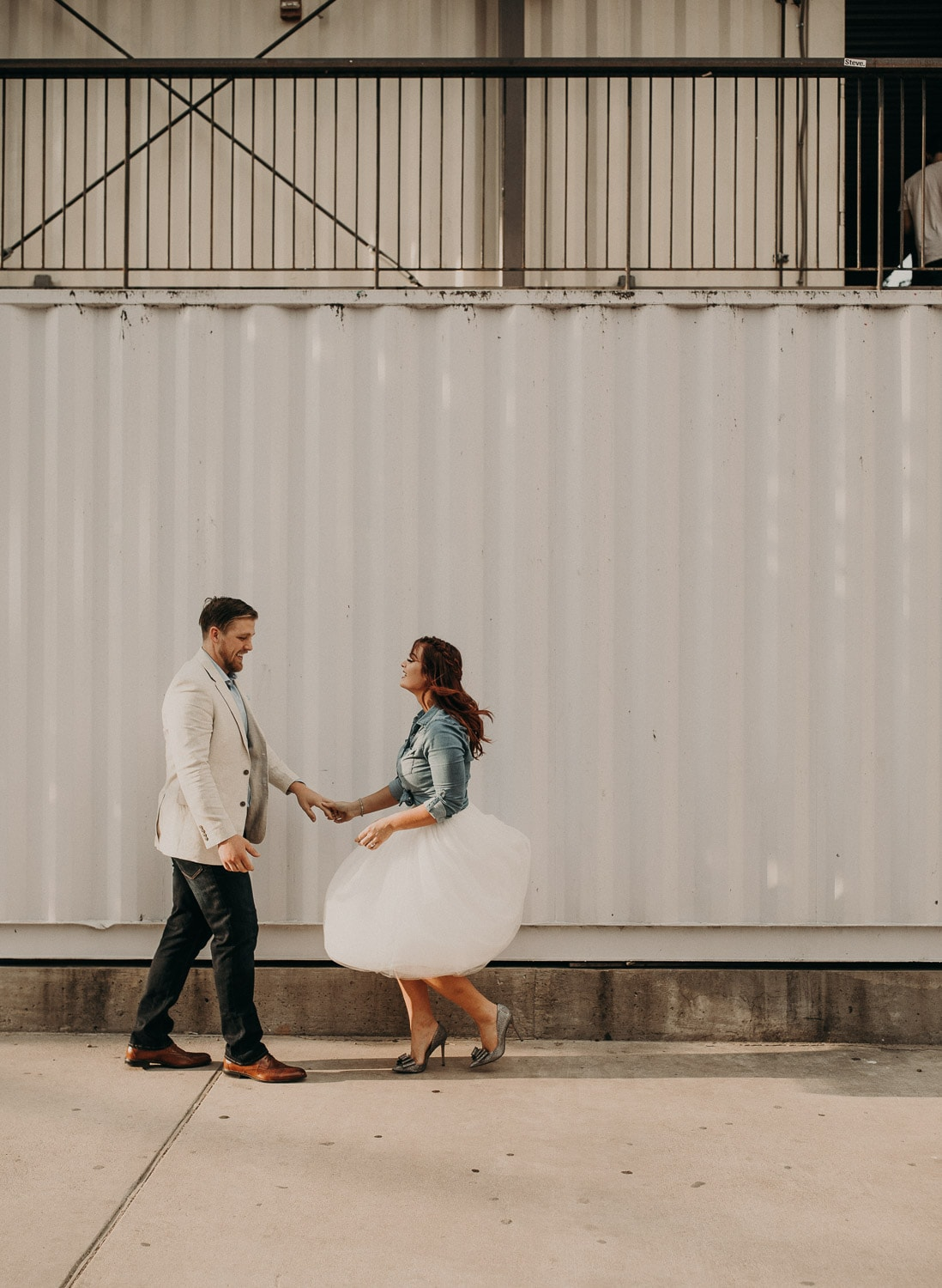 Engagement photos in San Antonio