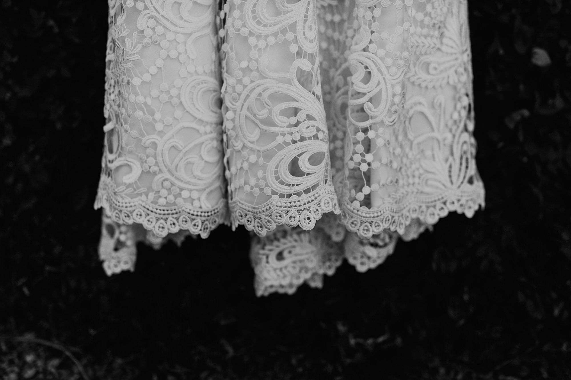 Southern chic wedding dress