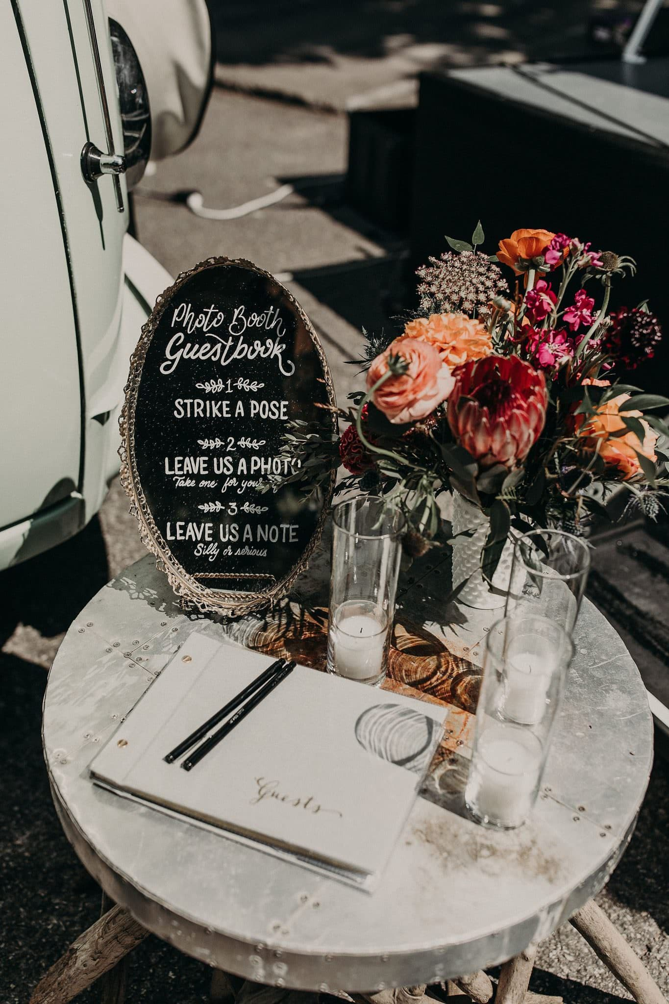 southern chic wedding decor