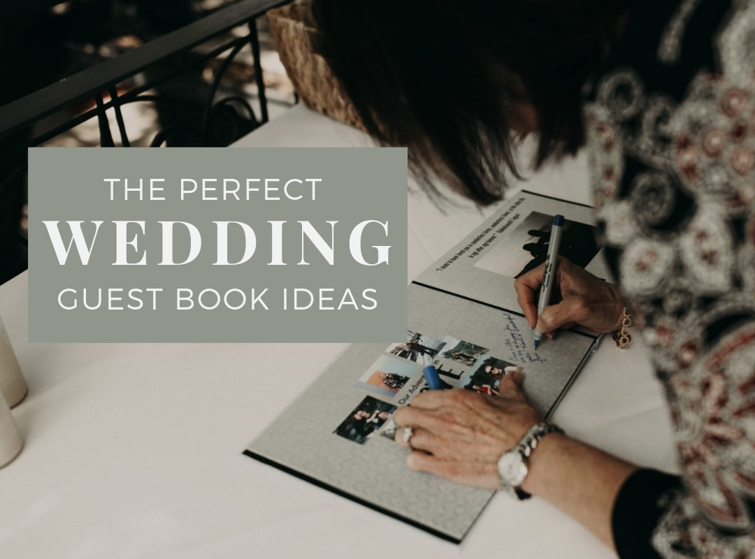 The perfect wedding guest book ideas