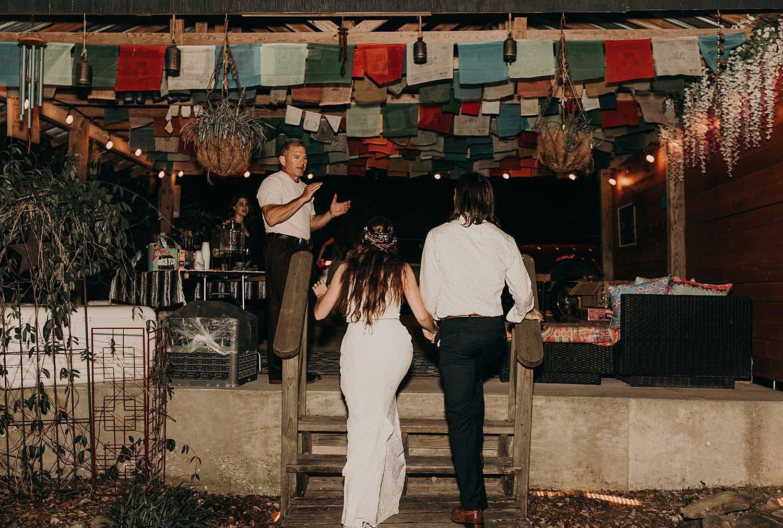 Backyard Bohemian Wedding