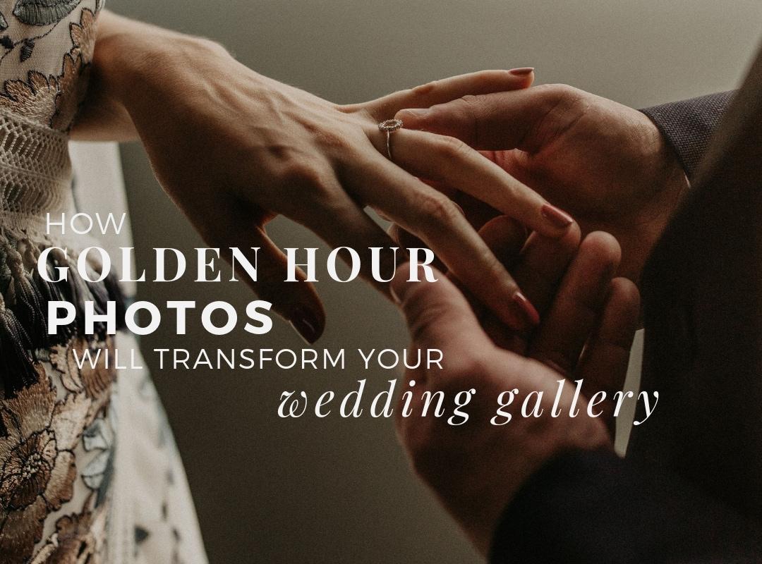 How Golden Hour Photos Transform your Wedding Gallery