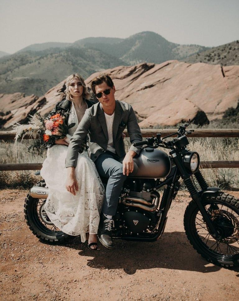 Red Rocks boho Wedding Inspiration shoot