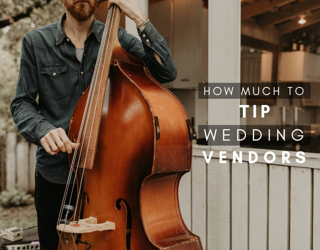 How Much To Tip Wedding Vendors