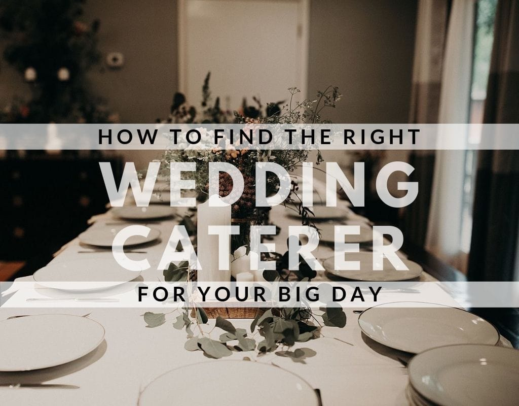 "Picture of a set table with the words ""how to find the right wedding caterer for your bid day"" Photography by Austin, Texas wedding photographer Nikk Nguyen."